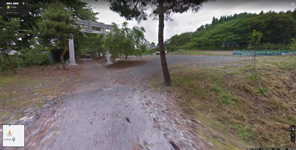 皆神山 登山 駐車場