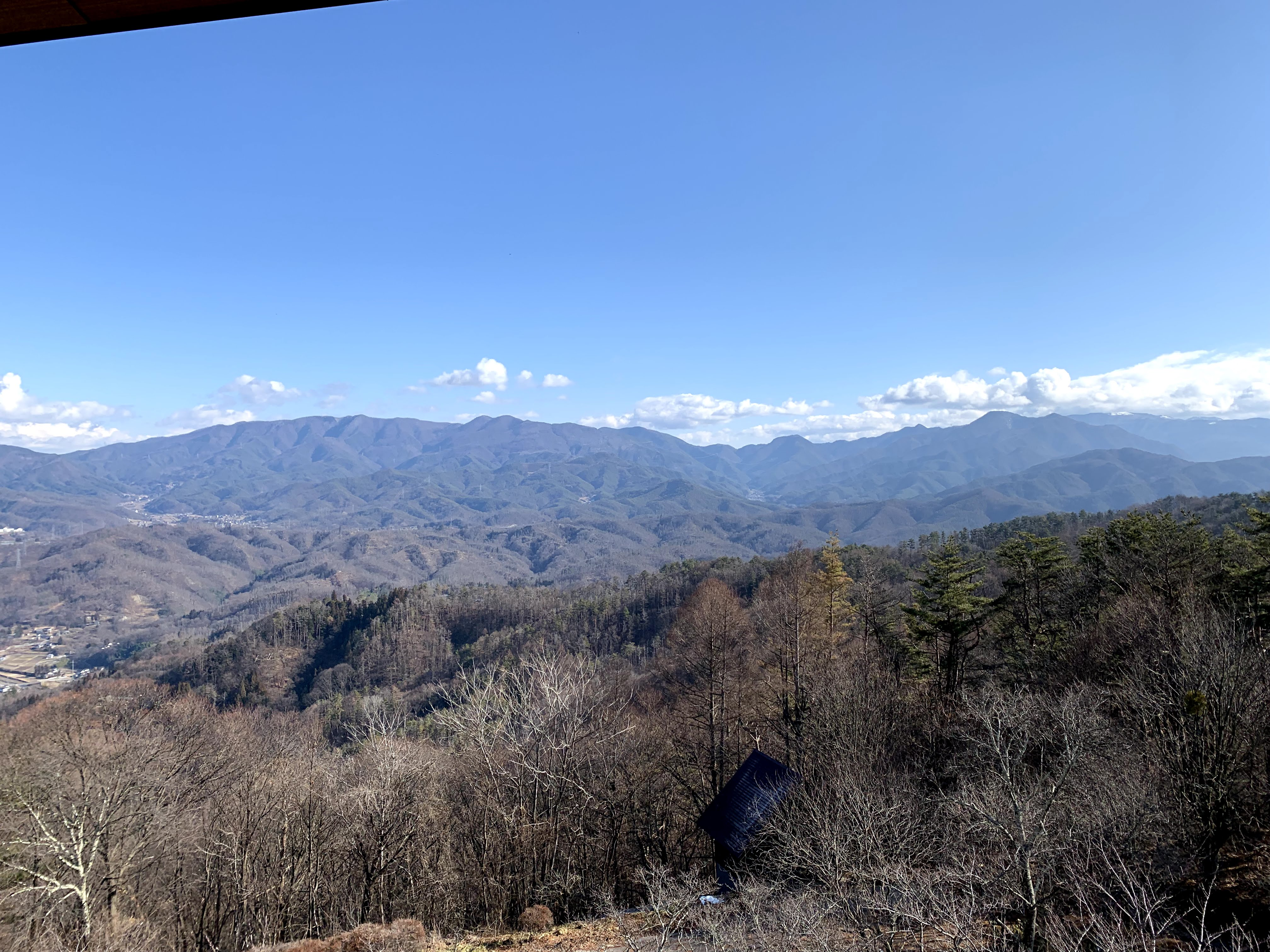 光城山、長峰山
